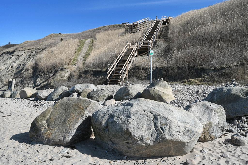 Trappen ved Vejlby Strand